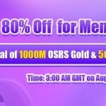 Group logo of RSorder 80% Off RS 07 Gold for Members to Take as Present on Aug 21