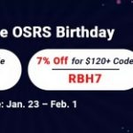 Group logo of Reliable Site RSorder to Acquire 7% Off Runescape 07 Gold for OSRS Birthday 2021