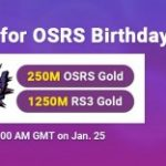 Group logo of OSRS Birthday 2021 Flash Sale: Take Cheap OSRS Gold for FREE on RSorder