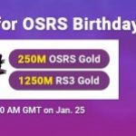 Group logo of Ready to Gain RSorder 2007 Runescape Gold for FREE for OSRS Birthday on Jan 25